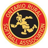 Logo for Ontario Rural Softball Association