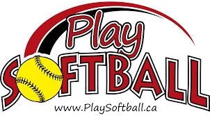 Logo for Play Softball
